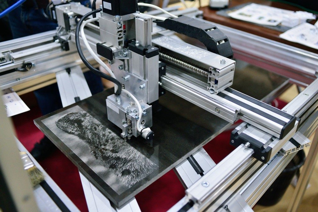 etching and engraving machine