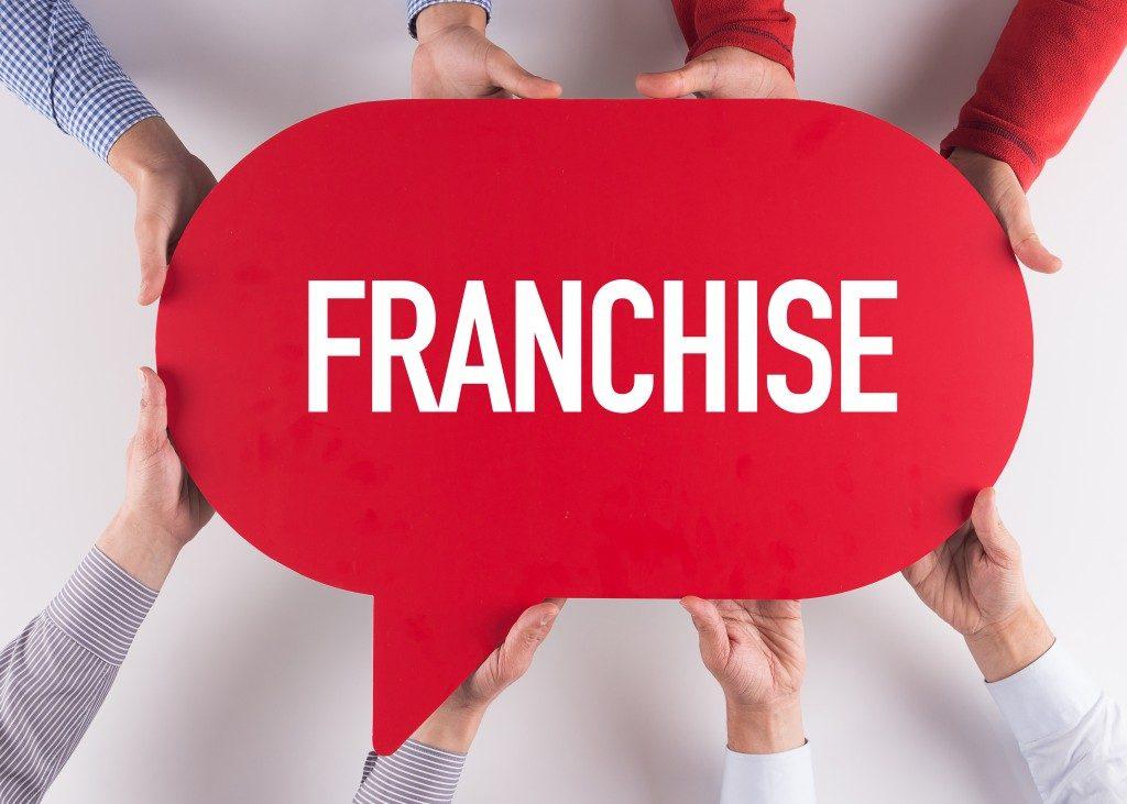 franchise speech bubble