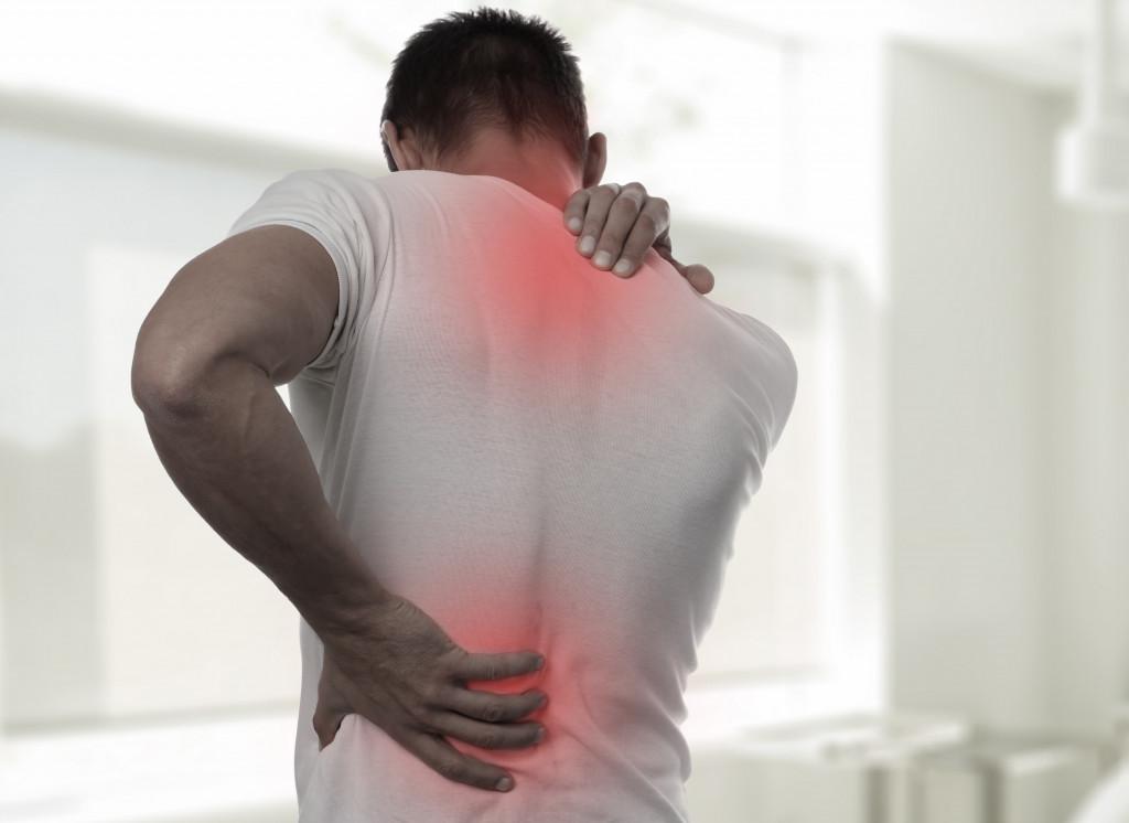 Having pains