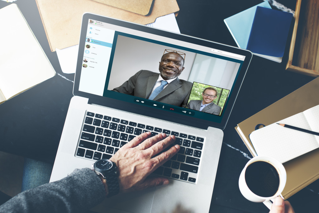 business video call